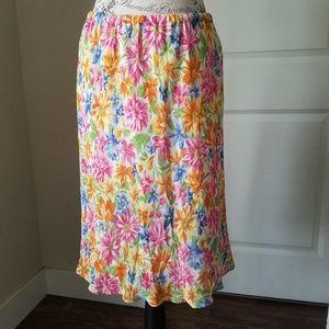 Jones New York Sport Floral Skirt